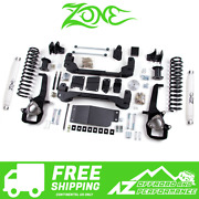 Zone Offroad 4 Suspension System Lift Kit For 2012 Dodge Ram 1500 4wd