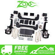 Zone Offroad 4 Suspension System Lift Kit For 2006-2008 Dodge Ram 1500 4wd D3