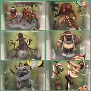 Mcfarlane Twisted Christmas-action Figures-new In Box-complete Set Of 6 Toys