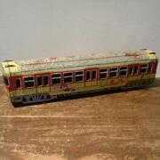Tin Made Train Toy Asakusa Hopper Space Patrol Very Old Model Rare From Japan