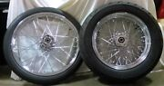 21 Speedmaster And 16 Avon 200 Pneus + Andagrave Rayons Roues Kit - Montandeacute And Balanced