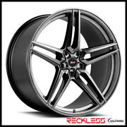 Savini 20 Svf-03 Gloss Graphite Concave Wheel Rims Fits Ford Mustang Gt Gt500