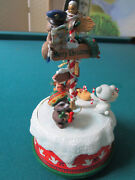 Enesco Musical Action The Signs Of Christmas -i'll Be Home For Xmas- 7 [nib15]