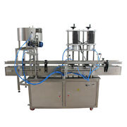 Auto Round Bottle Capping Machine 2 Capping Heads Customized Capping Machine