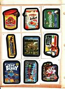 2013 Wacky Packages Series 11 Base Set 110 Card Set Near Mint Condition