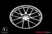 Avant Garde 20 Vanquish Silver Concave Wheel Rims Fits Ford Mustang Gt Gt500