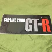 Skyline 2000 Gt-r Sign Brand New Collectible Rare Beautiful From Japan F/s