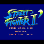 Street Fighter 2 Champion Edition Game Sub Rom Mother Board Capcom From Japan