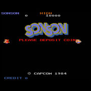 Son Son Pcb P.c.board Game Capcom Shooting Action Rare 1984 From Japan F/s