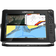 Lowrance Hds-12 Live W/active Imaging 3-in-1 Transom Mount And C-map Pro Chart