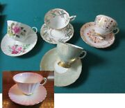 Tea Time Cups And Saucers England Tuscan Royal Stafford - Allyn Nelson -pick 1