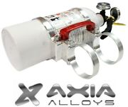 Axia Alloys Quick Release 2 Lb. Fire Extinguisher W/ 2.0 Mount - Bright Clear
