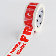 2 Inch X 110 Yards 330and039 Fragile Marking Packing Tape Handle W/ Care 360 Rolls