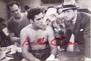 Billy Conn Boxing Hofer In Movie The Pittsburgh Kid Photo Autographed