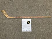 1986-87 Detroit Red Wings Autographed Mini Hockey Stick