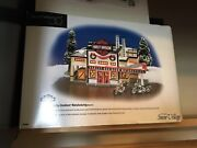 Dept 56 Snow Village Harley Davidson Set Of Houses And Accessories