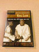 Broadway Theater Archive Dvd 'king Lear' Sealed New Oop Ny Shakespeare Festival