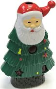 Collectible Novelty Christmas Tree Santa Lighter Lights And Music Assorted 1655