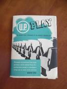 1945 Up Play United Press Newspaper News Service Front Page Sample Brochure Wwii