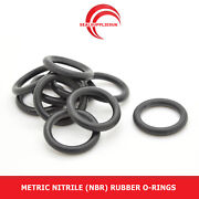 Metric Nitrile Rubber O Rings 5mm Cross Section 121mm-180mm Id - Uk Supplier