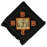 Early 1900and039s Bloomington Bloomers Baseball Team Photo Felt Banner 23 X 23