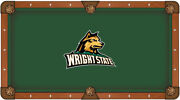 Ncaa - Wright State Pool Table Cloth College Team Logo
