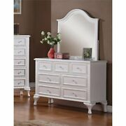 Picket House Furnishings Jenna Dresser With Mirror In White