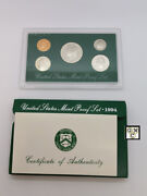 1994-s United States Mint Proof Set Of 5 Coins Ooak
