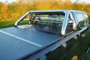For Ford Ranger T6 Hard Fold Tonneau Cover And Roll Bar Combo 2012 Onwards D/c