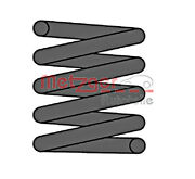 Metzger Coil Spring For Mercedes W461 W463 89-00 4603240704