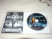 Ps3 Battlefield 3 Video Game/ Rated M For Mature