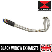 Gsx1300r Hayabusa 08-20 4-2 Performance Race Exhaust System Round Silencer Cl23r