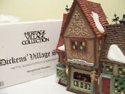 Department56 Dickens Villagenettie Quinn Puppets And Marionettes 58344 Mint 1996
