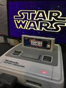 Super Famicom Game Soft Star Wars Empire Strikes Back Tested Rare From Japan