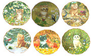 Purr-fect Companions Cat Kitty Kitten Collector Plate Bradford Exchange