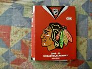 2009-10 Chicago Blackhawks Media Guide Yearbook 2010 Stanley Cup Program Nhl Ad
