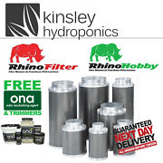 Rhino Pro And Hobby Filter 4 5 6 8 10 12 Inch Carbon Hydroponics Free Items