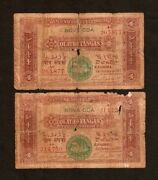 Portuguese India 4 Tangas P19 1917 Ship Indian State Money Rare Asian Bank Note