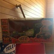 Toy Story Rc Car Remote Wireless Control Pixar Baggy New In Box Toy Rare Japan