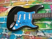 Alan Parsons The Beatles Autographed Signed Electric Guitar Lom Coa G469