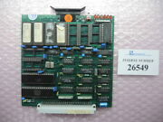 Card Cpu 82, Engel Cc80 Buhl Control Used Spare Parts