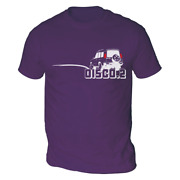 Carass Disco2 Mens T-shirt Pick Colour And Size Gift Present 4x4 One Landy