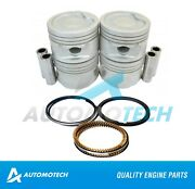 Piston And Ring Set Fits Chevrolet Chevy Monza Corsa 1.4 L Sohc Size 030