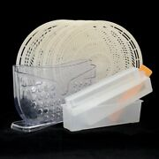 Combo - Snack Maker -rice Paper Roll Water Bowl - 5-pack Trays -4pcs Sushi Maker