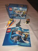 Lego City 60011 Surfer Rescue Shark Building Set Complete Box And Instructions