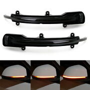 Side Mirror Sequential Blink Turn Signal Light For 12-17 Audi Q5 Sq5 And 10-15 Q7
