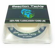 Reaction Tackle 100 Pure Fluorocarbon Fishing Line