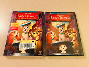 Disney's 'lady And The Tramp Ii - Scamp's Adventure' Dvd Sealed New W/ Slipcase