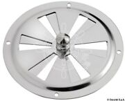 Osculati Round Vent Polished Ss 152 Mm + Fly Screen