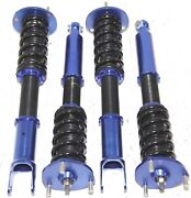 Blue Coilover Suspension Kits For 93-97 Mazda Rx7 Rx-7 Fd3s Holiday Sales